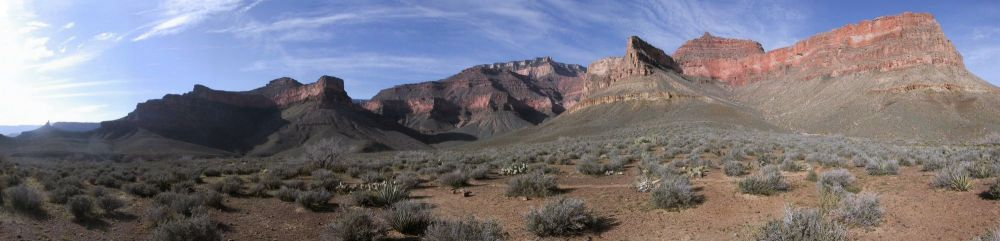 Tonto Trail panorama, Boulder Canyon, 2005